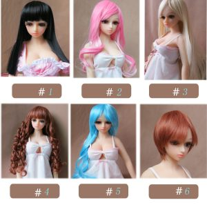 wig for mini doll